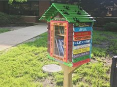 Little free library Asheville